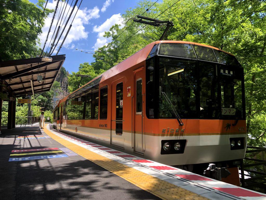 叡山電車きらら